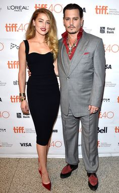 Amber Heard & Johnny Depp from The Big Picture: Today's Hot Pics | E! Online