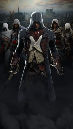 Assassin's Creed Unity by on DeviantArt Assasins Creed Unity, Arte Assassins Creed, Arno Dorian, Playstation, Xbox, Assasins Cred, Connor Kenway, Assassin's Creed Wallpaper, Graphic Novel