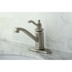 @Overstock - Give your bathroom a clean, contemporary style with this satin nickel bathroom faucet. This single-handle, centerset faucet is shaped like a lever, contains standard US plumbing connections, and prevents drips with its ceramic cartridge system.http://www.overstock.com/Home-Garden/Templeton-Centerset-Satin-Nickel-Bathroom-Faucet/6157191/product.html?CID=214117 $89.99