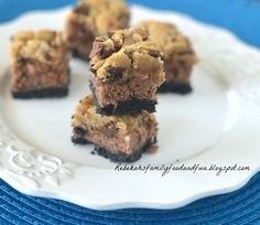 Family, Food, and Fun: Chocolate Chip Chocolate Cheesecake Bites