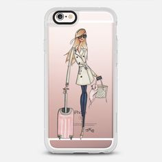 Jet Setter - - New Standard iPhone 6 Case in Clear and Clear by @jfillustrations | @casetify