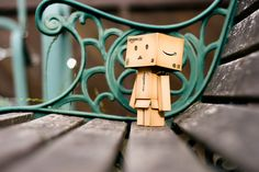 yep, danbo needs to visit my favorite park bench again soon