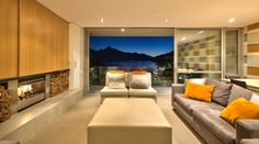 New Zealand, Villa, Luxury Holiday House, Top of the Lake, Queenstown, Apartment