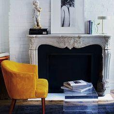 Mustard Yellow Arm Chair