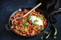 Healthy mains Healthy Chilli Con Carne, Chili Con Tofu, Chilli Con Carne Recipe, Healthy Chili, New Recipes, Dinner Recipes, Healthy Recipes, Dinner Ideas, Skinny Recipes