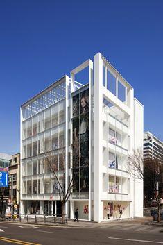 Loja H&M Seul Hongdae,© Youngchae Park