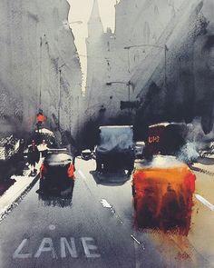 Watercolours by Álvaro Castagnet @alvaro_castagnet #dcnart #alvarocastagnet