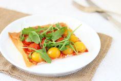 Pizza-mijters van filodeeg met tomaten – SKINNY SIX