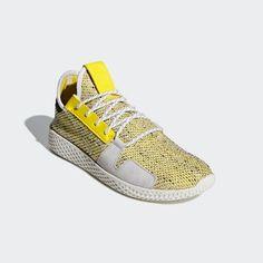 size 40 29e24 05fd9 Yellow Adidas, Pharrell Williams, Black 13, Black Shoes, Adidas Originals,  Tennis