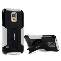 [$1.86] HAWEEL for Samsung Galaxy S5 / G900 Dual Layer TPU Plastic Combo Case with Kickstand(Black)