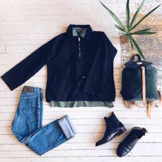 Say goodbye to summer in style with these Vintage gems! Disez au revoir à l'été avec notre nouvelle collection d'automne !  #vintage #montreal #fall #mileend #denim #boots #menswear