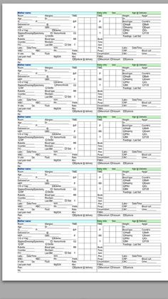 indepth formIndepth Form Nurse report sheet, Nurse