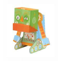 Krooom - Assembla il mio robot - Brontolone - Grumpy Robot - K463 | lalberoazzurro.net