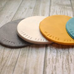 Diy coasters Sculpey Clay Coasters - Amy Latta Creations How to Choose a Color When Painting Your Ro Sculpey Clay, Polymer Clay Crafts, Mug Design, Clay Design, Clay Christmas Decorations, Christmas Clay, Clay Crafts For Kids, Diy Air Dry Clay, Clay Keychain