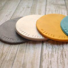 Sculpey Clay Coasters Tutorial