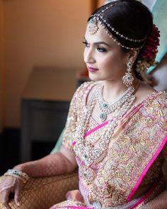 Soundarya Rajnikanth's Bridal Looks Are Perfect For Inspiring South Indian & Fusion Brides! Soundarya Rajnikanth's Bridal Looks Are Perfect For Inspiring South Indian & Fusion Brides! Bridal Makeup Looks, Indian Bridal Makeup, Bridal Looks, Indian Wedding Wear, Indian Wedding Planning, Bridal Silk Saree, Saree Wedding, Punjabi Wedding, Wedding Shoot