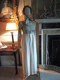 Here's the original Elizabeth Bennet costume from the 1995 Pride & Prejudice!