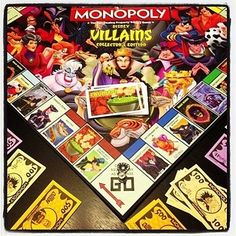 Disney Villains Monopoly (Collector's Edition).   13 Of The Weirdest Monopoly Editions Ever Created MUCH WANT!!