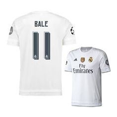 adidas Real Madrid Bale  11 UCL Soccer Jersey (Home 15 16) Bale b7e61b70d