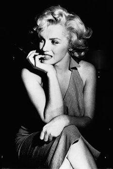 Marilyn Monroe - Sitting (24x36) - FLM36440