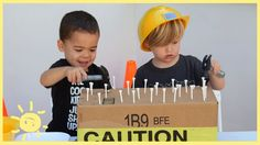 You can't go wrong with these 3 easy construction themed activities that your toddlers/pre-schoolers will love!