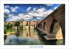 The old bridge of Albi - Albi, Midi-Pyrenees