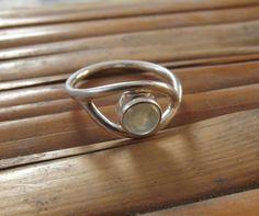925 anello in argento sterling limone quarzo di silveringjewelry