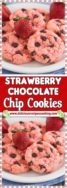ideas for cookies recipes healthy organic cookies recipe healthy Healthy Cookie Recipes, Healthy Cookies, Snack Recipes, Dessert Recipes, Organic Cookies, Super Cookies, Healthy Chocolate Chip Cookies, Kids Cooking Recipes, Chocolate Strawberries