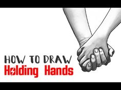 How to Draw Holding Hands with Easy Step by Step Drawing Tutorial - How to Draw Step by Step Drawing Tutorials