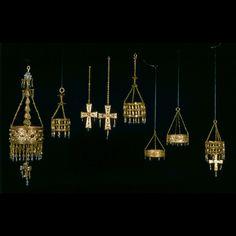 Tesoro de Guarrazar Oro, piedras preciosas, perlas, nácar, vidrios artificiales y cristal de roca Guarrazar (Guadamur, Toledo) Siglo VII (621-672) MAN