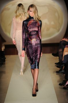Andrea Sheffield at Genny Fall 2012 RTW Collection