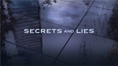 Secrets and Lies - Season 2 - Promos + Promotional Poster *Updated 28th August…