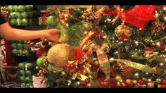 Using Deco Mesh in Your Christmas Tree, via YouTube.
