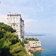The aquarium in #Monaco, right on the #Mediterranean. Photo courtesy of sabzwong on Instagram.
