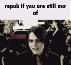 lol I discovered mcr in 2017 and I've already read more frerard fanfics then you can imagine