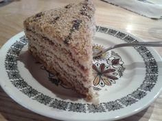 Dzień 9- słabość Ciasto orzechowe. Zdjęcie nie z dzisiaj tylko z 31.08. Jednak w tym przypadku to chyba dobrze:-) #fitfotowyzwanie