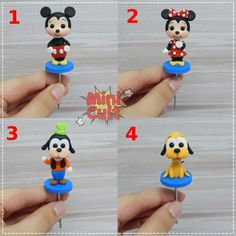 Toy Art, Disney Word, Cult, Mini, Cake Toppers, Character, Cold Porcelain Ornaments, Pasta Crafts, Bubbles