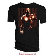 Koszulka Iron Man - reaktor łukowy