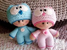 Czyżby to była sowa? Crochet Doll Clothes, Crochet Dolls, Doll Patterns, Crochet Patterns, Educational Toys For Toddlers, Jar Design, Amigurumi Doll, Cool Baby Stuff, Doll Face