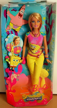 SpongeBob barbie, via Flickr.