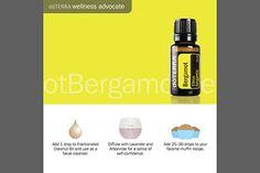 doTerra Social Media - Oils 3 Ways - Bergamot
