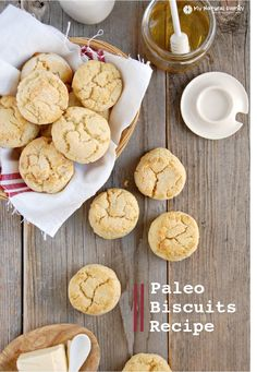 "Paleo ""Buttermilk"" 'Biscuits Recipe"