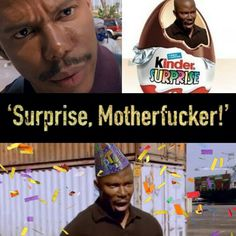 Dexter .. Surprise Motherfucka Hahahaha