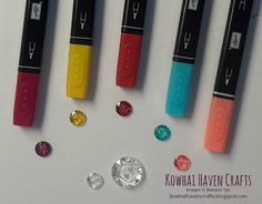 Have you had a chance to try Blendabilities Markers from Stampin' Up! With these fabulous markers you can now colour and blend like a p. Stampin Up, Colouring Techniques, Markers, Embellishments, Coloring, Tutorials, Blog, Crafts, Stuff Stuff