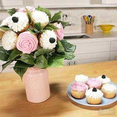 Cupcake Wedding Bouquet