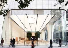 Apple Store Brussels #applestorearchitectureretail Pinned by www.modlar.com