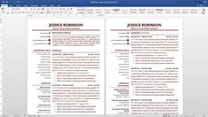 Resume Template Optimised For Applicant Tracking System Ats
