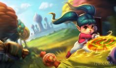 Lollipoppy Skin - Chinese - League of Legends Wallpapers