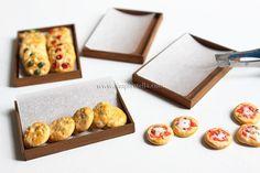 """Simplystella's Sketchbook: DIY Miniature """"Wooden"""" Trays"""