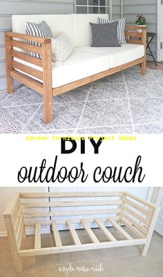 Home Discover DIY Outdoor Couch Comment construire un canapé DIY Diy Para A Casa Diy Casa Canapé Diy Sell Diy Diy Couch Diy Outdoor Furniture Diy Furniture Couch Rustic Furniture Modern Furniture Diy Wood Projects, Home Projects, Diy Garden Projects, Projects For Kids, Outdoor Projects, Diy Furniture Projects, Garden Ideas, Design Projects, Diy Projects For Bedroom
